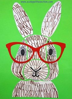 Dessiner un lapin graphisme, modèles et gabarits