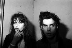 "julydogs: ""Peter Milne : Anita Lane and Nick Cave, The Venue, St Kilda mid-1980s """