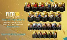 FUT 16 TOTW 11 (Team of the Week) - FIFA 16 Ultimate Team