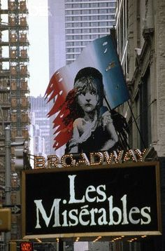 "The Broadway Theatre at 1681 Broadway: home to my favorite, ""Les Miserables"" and to ""Miss Saigon"" ""Cinderella"" had a ball at the Broadway from 2013 to early ""Doctor Zhivago"" moved in for the spring thaw in Photo: Michael S. Broadway Theatre, Musical Theatre, Broadway Shows, Les Mis Broadway, Broadway Nyc, Broadway Plays, Les Miserables, Theater, Theatre Nerds"