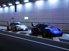 RAUH-Welt Porsche 911's ready to rip the road