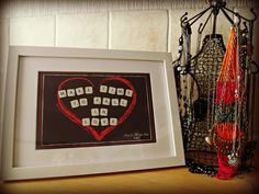 Home Decor and Gifts - Designed By Vikki Anne Framed Wall Art Picture - Make Time To Fall In Love