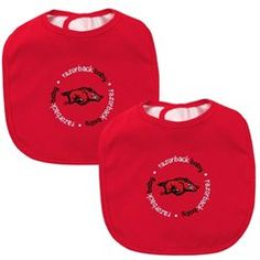 2-Count Baby Fanatic Team Color Bibs University of Mississippi
