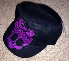 MONSTER HIGH GIRLS Black HAT NEW with tags cap