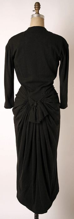 Dress, Dinner.  Elsa Schiaparelli  (Italian, 1890–1973).  Date: ca. 1938…