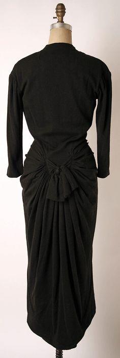 Dress, Dinner.  Elsa Schiaparelli (Italian, 1890–1973).  Date: ca. 1938…