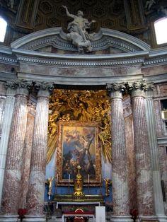 Sant'Andrea al Quirinale,  high altar, Palazzo del Quirinale, Rome, Province of Rome, Lazio