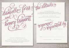 Image result for calligraphy invitations