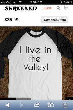 I'm sorry but if you don't think this is the best shirt ever something is wrong with you