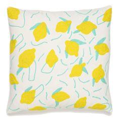 Lemon Party Pillow