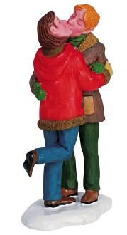 Lemax Christmas Figurine: Romance at the Lodge
