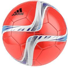 buy online b519a 1c96d adidas Performance Conext15 Glider Soccer Ball Solar RedNight Flash  PurpleWhite Size 5    You can