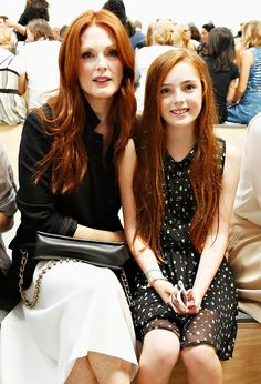 Mothers son redhead