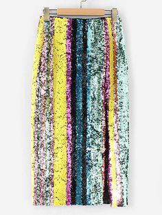I have seen a few bloggers wear sequin skirts like this and it looks amazing! #fashion #style
