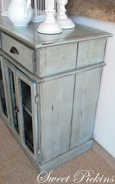 refinishing furniture- Love this color for my entertainment center