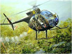 OH-6 Hughes Vietnam