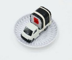 Nice idea for little ones - sushi delivery!