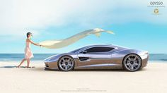 """""""My aim was to design the first mid engine A&M car with true spirit of the brand"""" Quote Samir Sadikhov http://www.luxury-mobility.com/am.html Designer Samir Sadikhov. Intellectual properties and © copyright @ the designer and ODYSSO Automobile GmbH"""