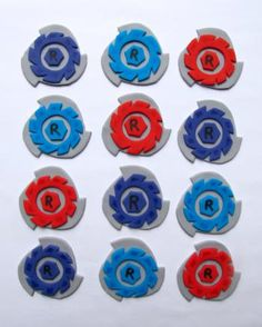 1000 images about beyblade cakes on pinterest beyblade for Anime beyblade cake topper decoration set