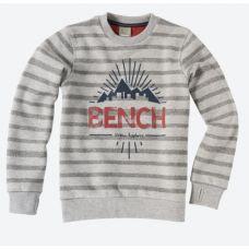Bench Gestreiftes Sweatshirt Highlight mit Front-Print