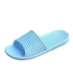 Qianle Unisex Anti-Slip House Sandal Bath Slipper Indoor Floor Slipper