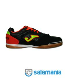 online store 28b0e 7cfbe Futsal Indoor JOMA TOP FLEX 701 NEGRO ROJO