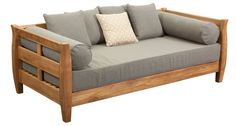 Teak Day Bed, outdoor day beds, casual day bed, segals outdoor furniture