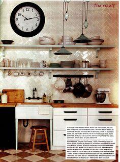 White Rustic Kitchen