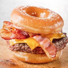 the Luther, a godsend of a burger on glazed donuts in lieu of buns.