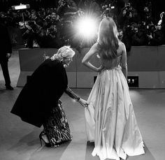 Cate Blanchett and Lily James