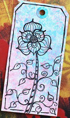 Art Tag - Floral Fantasy 5 | Flickr: Intercambio de fotos