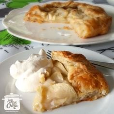 Make this easy apple pie, called an apple galette that tastes just like an apple strudel! Really! Simple! Check out http://www.quick-german-recipes.com/apple-galette.html and then ❤️ Like it! Share it!   Pin it! Make it! Enjoy it!