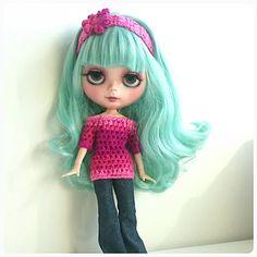 Blythe / Doll Clothes / Crochet