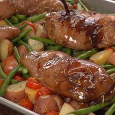 Honey Balsamic Sheet Pan Chicken Recipe | TipHero
