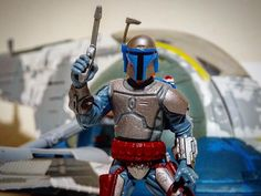 3$ for this Jango   #stormtrooper #jedi #sith  #blackseries #starwarsfan #yoda #art #r2d2 #hansolo #bobafett #lukeskywalker #geek #forcefriday #cosplay #darkside #chewbacca #starwarday #lightsaber #toys #theforce #instagood #kyloren #thelastjedi #c3po #clonetrooper #Clone #rogueone