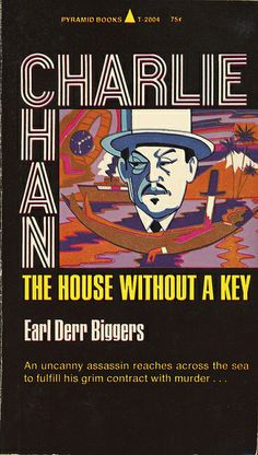 Pyramid Books - Earl Derr Biggers - The House Without a Key | Charlie Chan Mystery 1969