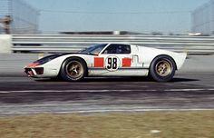 Winning Ford GT40 Mk. II at Daytona 1966 by Nigel Smuckatelli, via Flickr