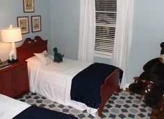 Little boys rooms. Margaret Fisher interiors. -via Interior Canvas