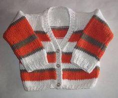 Resultado de imagen para prendas para bebe de 0 a 6 meses tejido en dos agujas