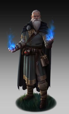 Mage by NathanParkArt on @DeviantArt