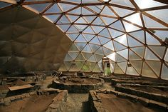 geodesic dome, green house