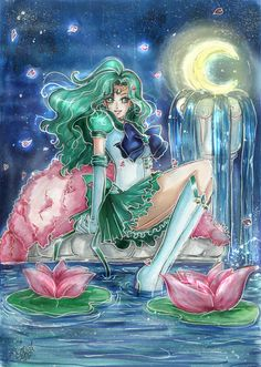 #SailorNeptune by Pi-Bri.deviantart.com on @DeviantArt