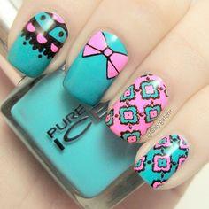 Instagram photo by alygaterrr #nail #nails #nailart