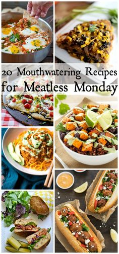 Tasty Vegetarian Recipes Perfect for Meatless Monday