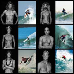 The A-team ' Craig Anderson 'Rob Machado 'Julian Wilson ' Kelly Slater 'Gabriel Medina 'Mick Fanning Julian Wilson, Kelly Slater, Snowboard, Surf Mar, Craig Anderson, Motocross Racer, Surfer Boys, Hawaii Surf, The A Team
