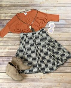 Getting ready for Fall! Loving this fall look in hot California! #lularoe…