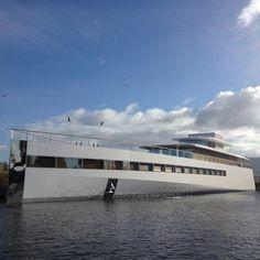 Steve Jobs' Yacht Venus