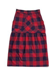 Loup Plaid Dorsey Skirt