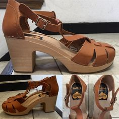 Swedish Hasbeens Duck Toe Sandals Worn a couple times. Made in Italy. Excellent condition and very clean. 'High' platforms 7cm/2.8 inches. Size 11/41. Closed-toe Swedish Hasbeens Swedish Hasbeens Shoes Mules & Clogs