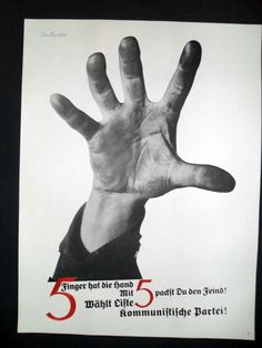 ■JOHN HEARTFIELD_THE HAND HAS 5 FINGERS■